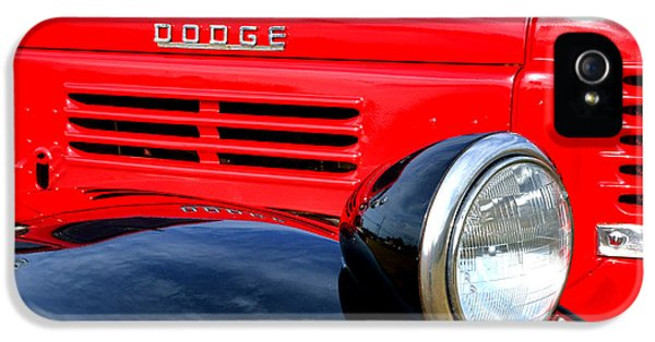 Restoration iPhone 5 Cases - Dodge Truck iPhone 5 Case by Olivier Le Queinec