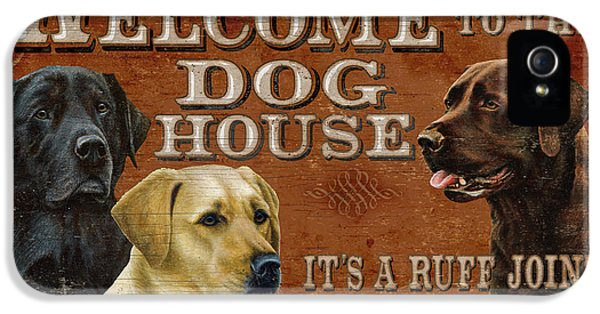 Hunting iPhone 5 Cases - Dog House iPhone 5 Case by JQ Licensing