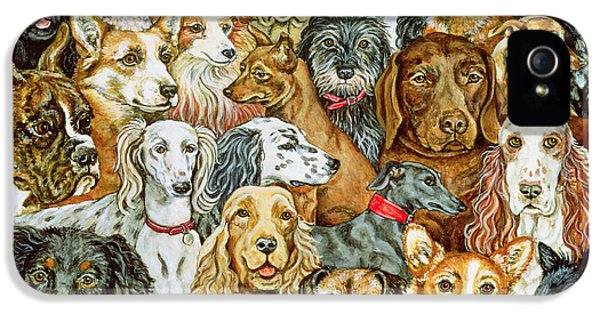 Dog Spread IPhone 5 / 5s Case by Ditz