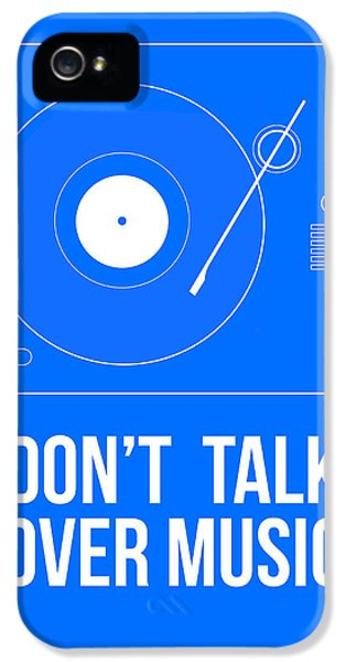 Wise iPhone 5 Cases - Dont talk over Music Poster iPhone 5 Case by Naxart Studio