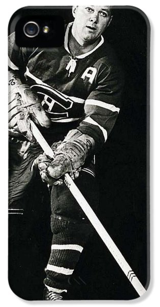 National League iPhone 5 Cases - Doug Harvey Poster iPhone 5 Case by Gianfranco Weiss