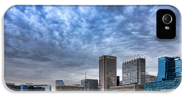 Lupin iPhone 5 Cases - Downtown Baltimore iPhone 5 Case by Olivier Le Queinec