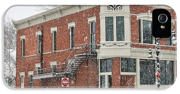 Downtown Whitehouse  7031 IPhone 5 / 5s Case by Jack Schultz