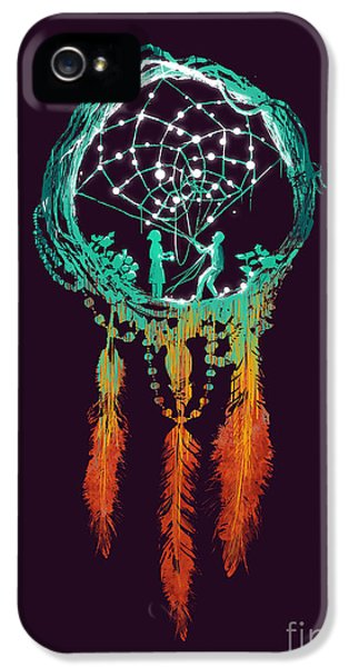 Color iPhone 5 Cases - Dream Catcher iPhone 5 Case by Budi Satria Kwan