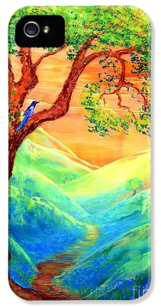 Dreaming Of Bluebells IPhone 5 / 5s Case by Jane Small