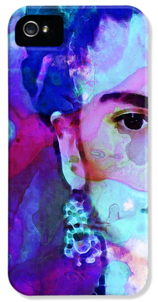 Painter iPhone 5 Cases - Dreaming of Frida - Art By Sharon Cummings iPhone 5 Case by Sharon Cummings