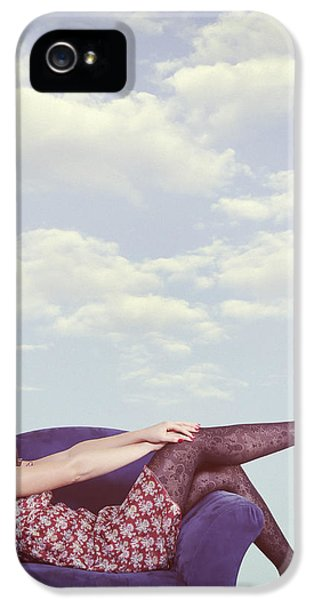 Contemplative iPhone 5 Cases - Dreaming To Fly iPhone 5 Case by Joana Kruse