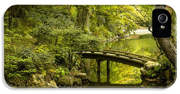 Calm iPhone 5 Cases - Dreamy Japanese Garden iPhone 5 Case by Sebastian Musial