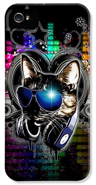 Cool iPhone 5 Cases - Drop The Bass iPhone 5 Case by Nicklas Gustafsson