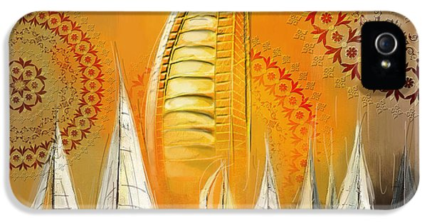 Arab iPhone 5 Cases - Dubai Symbolism iPhone 5 Case by Corporate Art Task Force