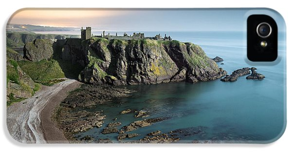 Strategic iPhone 5 Cases - Dunnottar by Moonlight iPhone 5 Case by Dave Bowman