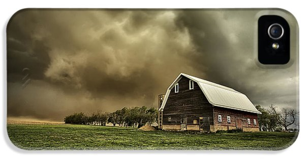 Storm iPhone 5 Cases - Dusty Barn iPhone 5 Case by Thomas Zimmerman