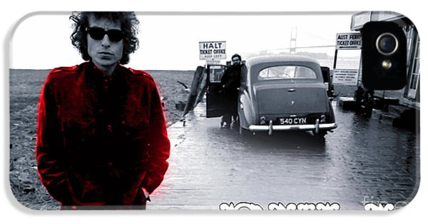Bob Dylan IPhone 5 / 5s Case by Marvin Blaine