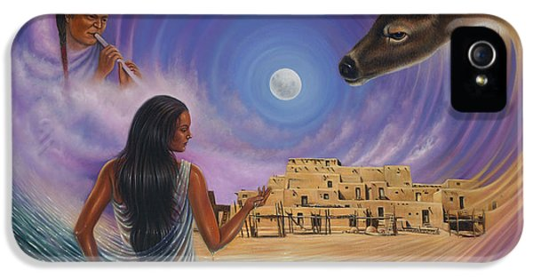 Pueblo iPhone 5 Cases - Dynamic Taos Il iPhone 5 Case by Ricardo Chavez-Mendez