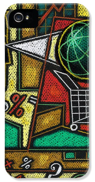 Data iPhone 5 Cases - E-commerce iPhone 5 Case by Leon Zernitsky