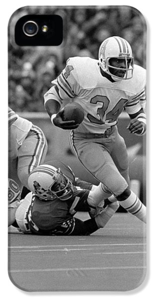 National League iPhone 5 Cases - Earl Campbell iPhone 5 Case by Gianfranco Weiss