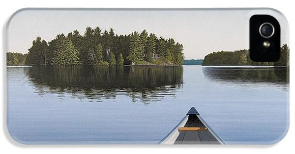 Early Evening Paddle  IPhone 5 / 5s Case by Kenneth M  Kirsch