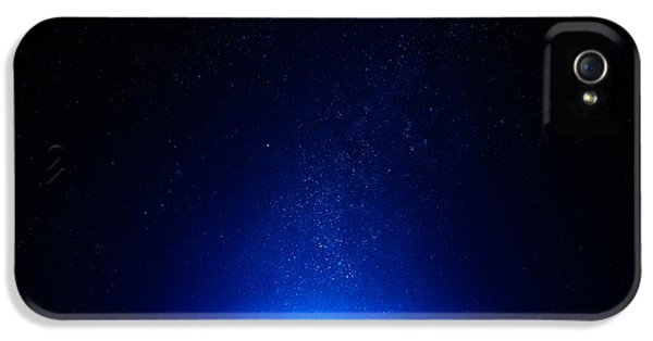 Earth iPhone 5 Cases - Earth at night with city lights iPhone 5 Case by Johan Swanepoel