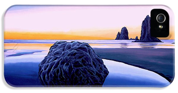 Element iPhone 5 Cases - Earth Sunrise iPhone 5 Case by Paul Meijering