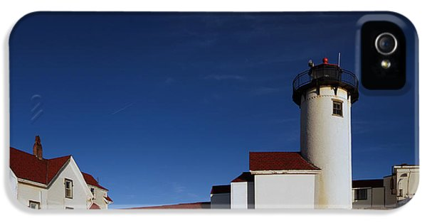 The Foghorn iPhone 5 Cases - Eastern Point 01 Pano iPhone 5 Case by Jeff Stallard