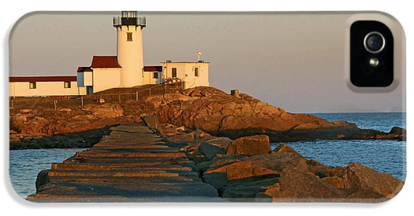 The Foghorn iPhone 5 Cases - Eastern Point 02 iPhone 5 Case by Jeff Stallard