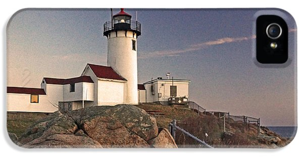 The Foghorn iPhone 5 Cases - Eastern Point 03 iPhone 5 Case by Jeff Stallard