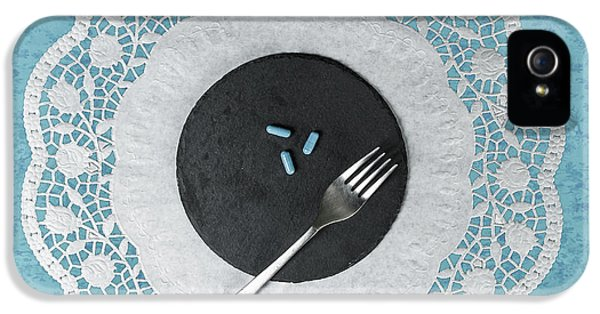 Pharmaceutical iPhone 5 Cases - Eating Pills iPhone 5 Case by Joana Kruse