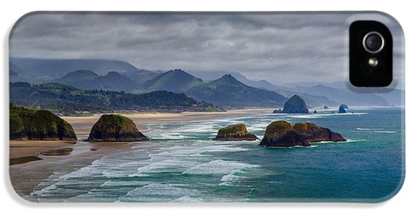 Oregon Coast iPhone 5 Cases - Ecola Viewpoint iPhone 5 Case by Rick Berk