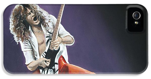 Eddie Van Halen IPhone 5 / 5s Case by Tom Carlton