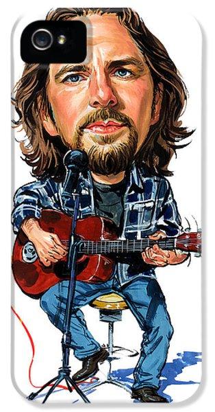 Eddie Vedder IPhone 5 / 5s Case by Art