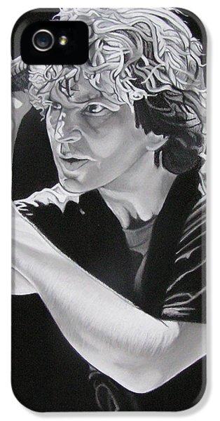 Eddie Vedder Black And White IPhone 5 / 5s Case by Joshua Morton