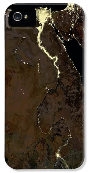 Egypt At Night IPhone 5 / 5s Case by Planetobserver