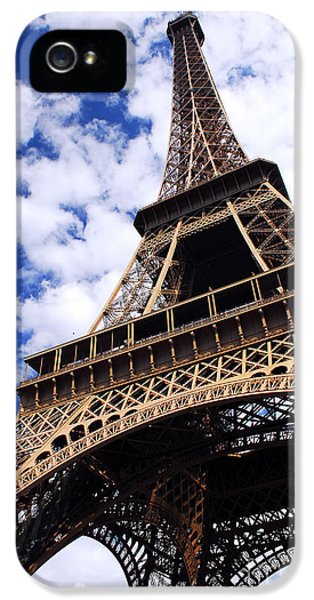 Architecture iPhone 5 Cases - Eiffel tower iPhone 5 Case by Elena Elisseeva