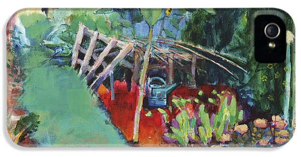 Potting Shed iPhone 5 Cases - Eighty Two b iPhone 5 Case by Marco Cazzulini