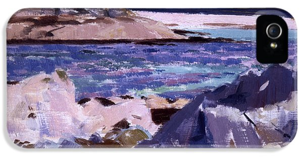 End Of Days iPhone 5 Cases - Eilean Annraidh from the north end iPhone 5 Case by Francis Campbell Boileau Cadell