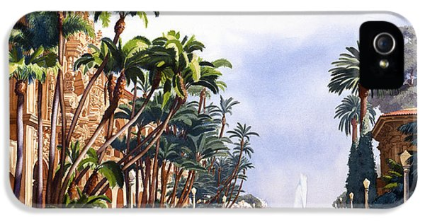 Balboa iPhone 5 Cases - El Prado in Balboa Park iPhone 5 Case by Mary Helmreich