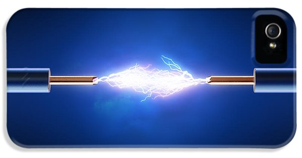 Equipment iPhone 5 Cases - Electric Current / Energy / transfer iPhone 5 Case by Johan Swanepoel