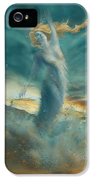 Elements - Wind IPhone 5 / 5s Case by Cassiopeia Art