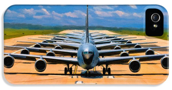 Usaf iPhone 5 Cases - Elephant Walk iPhone 5 Case by Dale Jackson