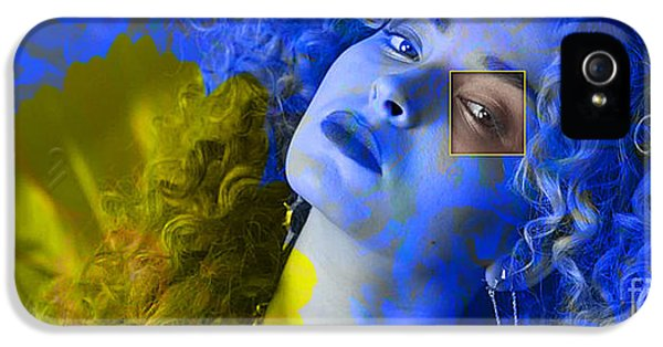 Ella Eyre Painting IPhone 5 / 5s Case by Marvin Blaine