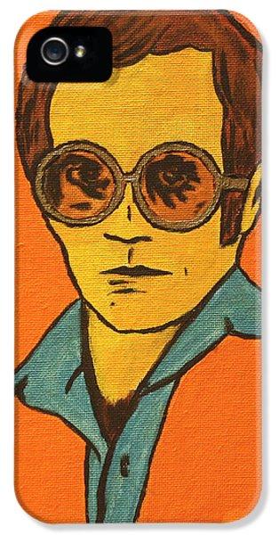 Elton John IPhone 5 / 5s Case by John Hooser