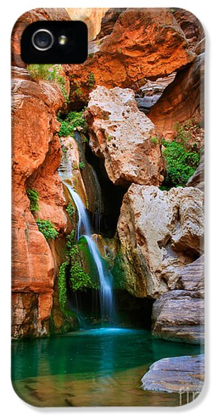 Environmental iPhone 5 Cases - Elves Chasm iPhone 5 Case by Inge Johnsson