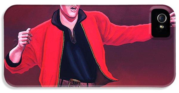 Tender iPhone 5 Cases - Elvis Presley 4 iPhone 5 Case by Paul  Meijering