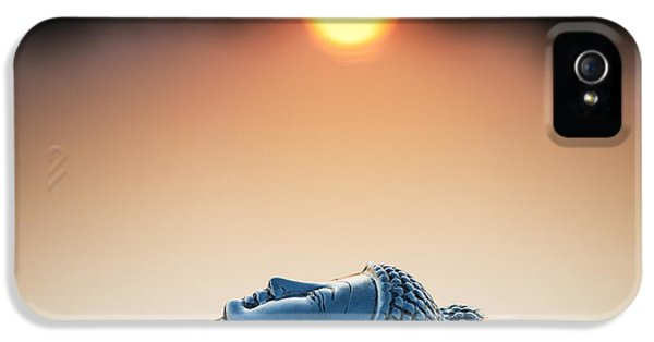 Beliefs iPhone 5 Cases - Emerging Buddha iPhone 5 Case by Tim Gainey