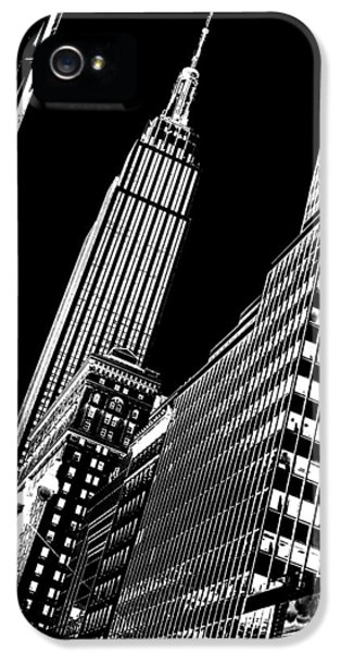 Midtown iPhone 5 Cases - Empire Perspective iPhone 5 Case by Az Jackson