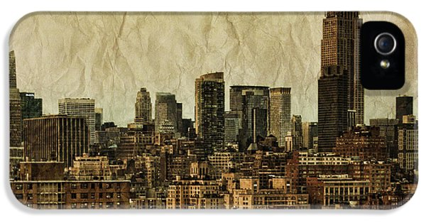 City iPhone 5 Cases - Empire Stories iPhone 5 Case by Andrew Paranavitana