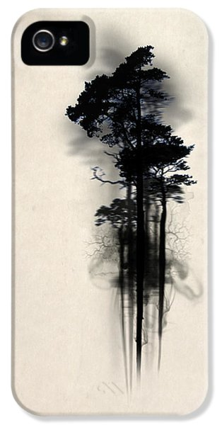 Horror iPhone 5 Cases - Enchanted forest Case iPhone 5 Case by Nicklas Gustafsson