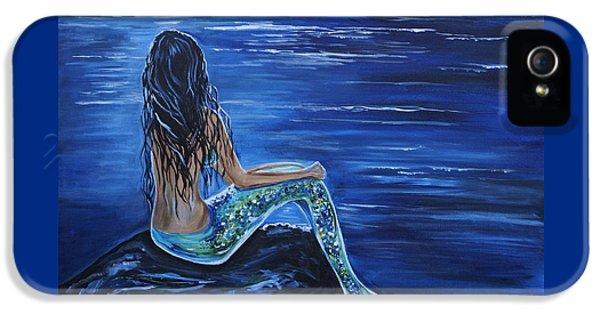 Enchanting Mermaid IPhone 5 / 5s Case by Leslie Allen