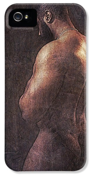 Erotic Male iPhone 5 Cases - Enlightenment 19 iPhone 5 Case by Chris  Lopez
