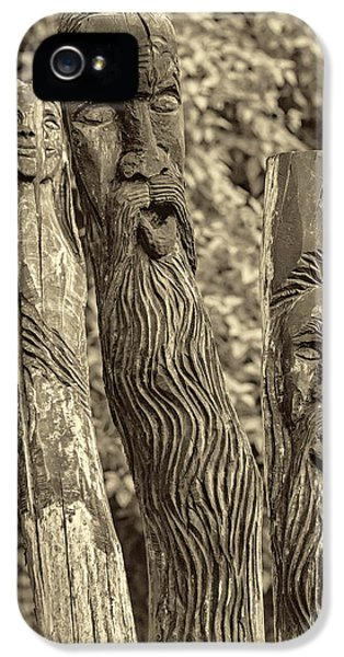 Ent iPhone 5 Cases - Ents sepia iPhone 5 Case by Steve Harrington